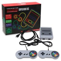 Wholesale HDMI Super FC Game Consoles SNES Classic Games Mini TV Video Games Handheld Retro Player NES For PAL SFC With Retail Box