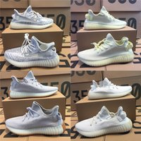 Wholesale cycling online - 350 V2 Static Semi Frozen Yellow Cream White Zebra Butter Beluga Kanye West Sports Designer Seankers Mens Running Shoes With Box