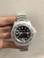 Wholesale Fold Paper Boxes - NOOB V7 Asia 2813 Movement Super Wristwatches Black 40MM Ceramic Bezel Sapphire Glass 116610 116610LN Mens Watch Watches Original Box Papers