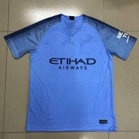 Wholesale e packet - MANches 2018 2019 City G.Jesus AGUERO SILVA Soccer Jerseys DANILO MENDY DE BRUYNE football Shirts STERLING SANE de futol free E-packet