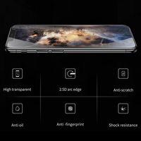 ingrosso protezione dello schermo di stile iphone-Ultimo stile per la protezione dello schermo di iPhone X XS Max XR Premium HD Full Coverage vetro temperato