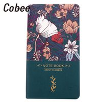 a6 merkzettel großhandel-Schreiben Buch Konto Buch Notebook A6 Notizblock Geschenk Blume Blüte Schule Kreativ 96 Seiten