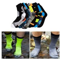 Wholesale thermal soccer - Top Quality Winter 100% waterproof socks breathable Thermal Ski Socks Sport Snowboard Cycling Socks Leg Warmers For Men Women