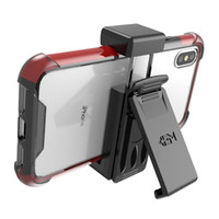 fundas para celulares samsung galaxy al por mayor-Clip de cinturón universal para teléfonos celulares Funda para teléfono compatible con iPhone X 8 8plus Samsung Galaxy S9 S9 plus