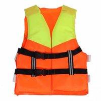 chaqueta de kayak al por mayor-Adulto Ajustable Flotabilidad Ayuda Vela Natación Pesca Canotaje Kayak Chaleco salvavidas