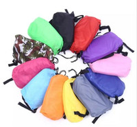 Wholesale Lounge Chairs Wholesale - 11 colors DHL Lounge Sleep Bag Lazy Inflatable Beanbag Sofa Chair, Living Room Bean Bag Cushion, Outdoor Self Inflated Beanbag Furniture