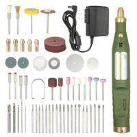 ingrosso trapano per incisione-Mini Engraver Electric Grinder Velocità variabile dremel drill Accessori Kit Electric Drill Grinding Engraving Lucidatura