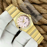 Wholesale constellations watch - Luxury brand Constellation series import Swiss T51 Automatic Movement Women watch Sapphire Crystal Luminous waterproof Ladies watch
