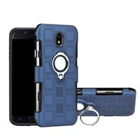 Wholesale iphone holders for belt - Hybrid 2 in 1 Shockproof Armor Case with Ring Holder Kickstand Belt Clip for iPhone X 6 7 8 Samsung Galaxy S8 s9 Plus Car magnetic 2018