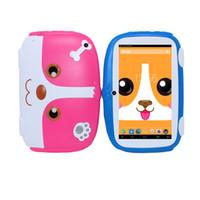 bildung pc spiele großhandel-Kinder Tablet PC 7 Zoll Android 6.0 Quad Core 8 GB 1024x600 Bildschirm Kinder Bildung Spiele BabyPAD Geburtstagsgeschenk