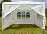 Wholesale wedding tent lighting online - Single Layer Tent Waterproof Light Thin Praetorium Garden Party Wedding Tents Practical With Windows Eco Friendly Canopy Jy BB
