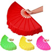 Wholesale 10pcs New Arrival Chinese dance fan silk veil colors available For Wedding Party favor gift