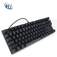 Wholesale Mini Keys Keyboard - METOO ZERO Mini 87 Keys game USB Mechanical keyboard wired clavier Gamer Gaming keyboard for computer Laptop Game