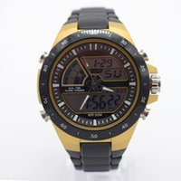 ingrosso orologio impermeabile mens giallo-orologi impermeabili gialli per gli uomini orologi automatici originali uomo esportivo mens orologi digitali di marca orologio sportivo semplice tattico