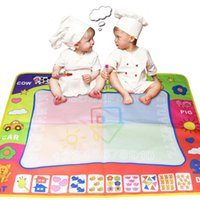 Wholesale alphabet toys for sale - Group buy 80 Hot Water Drawing Board With Magic Two Pens Magic Four Color Water Color Cloth Writing Blanket Oversized Children s Toys