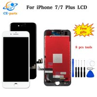 Wholesale fast display - Black&White LCD Display For Apple iPhone 7 7 Plus LCD Touch Screens Assembly Digitizer No Dead Pixels Top AAA Quality Fast DHL Shipping