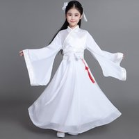 784633151 chinese girls costume Canada - traditional Ancient chinese folk dance  costumes girls children classical kids child
