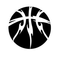 vinil de basquete venda por atacado-13 CM * 13 CM Interessante Basquete Silhueta Decoração Decalques de Vinil Adesivo de Carro