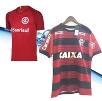 Wholesale level best - Top-level Brazil 18 19 Internacional Soccer Jerseys Brazil home Soccer Jerseys Sport Club Internacional best quality Flamengo Soccer Jerseys