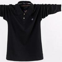 dünger marken großhandel-2018 neue Marke Herbst Männer Shirt 100% Baumwolle Casual Mode plus Dünger erhöhen Größe M-5XL Shirt Männer
