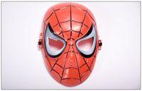 máscara de aranha venda por atacado-Homem Aranha Máscara Filme Guy Mask Herói Full Face Guard para o Dia Das Bruxas Cosplay Traje Decoração do partido