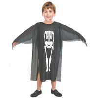 ingrosso costume fantasma dei bambini-Costumi di Halloween Skull Skeleton Mostro Demone Fantasma Spaventoso Costume Vestiti Robe per adulti Uomini Donne Bambini Bambini Cosplay