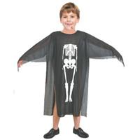Wholesale men costume robe for sale - Group buy Halloween Costumes Skull Skeleton Monster Demon Ghost Scary Costume Clothes Robe for Adult Men Women Children Kids Cosplay