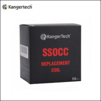 bobinas ssocc vs occ al por mayor-Min.50pcs bobinas auténticas de Kanger SSOCC nueva bobina orgánica del acero inoxidable para Subtank Subox Mini Series Subvod Nebox Topbox Nano Kit contra OCC