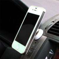galaxy s5 araba sahibi toptan satış-Araç Telefonu Tutucu Manyetik Top Araba Montaj Tutucu GPS Cep Telefonu Tutucu iPhone 5 6 Galaxy Not 3 4 S4 S5
