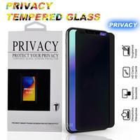 protector de pantalla estilo iphone al por mayor-Pravicy Tempered Glass 2018 nuevo iPhone Xs Max 6.5 'Protector de pantalla con dureza 9H con embalaje Estilo antirreflejo