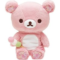 Wholesale rilakkuma stuff toy for sale - Group buy Pink Rilakkuma Bear Plush Toys CM Soft Relax Bear Stuffed Toy Animals Doll Baby Kids Pillow Toys Valentine s Gifts
