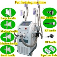 Wholesale tripolar rf skin tightening - Best price coolsculpting machine fat reduction Fat Freezing slimming lipo cavitation machine tripolar weight loss RF skin tightening spa use