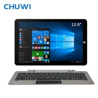 Wholesale Pc Atom - CHUWI Official! CHUWI Hi12 Dual OS Tablet PC Windows10 Android 5.1 Intel Atom Z8350 4GB RAM 64G ROM 12Inch 2160x1440 IPS Screen