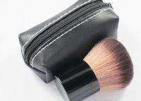 182 brosses de maquillage achat en gros de-HOT Makeup 182 rouge \ pinceau blusher + sac en cuir d'expédition DHL