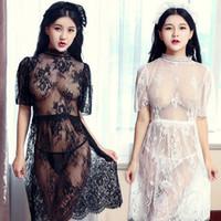 Wholesale sexy pjs - Ladies womens Solid plain rayon silk short Robe Pajama Lingerie Nightdress Kimono Gown pjs Women Dress elegant M010