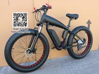 bicicletas de 12 polegadas venda por atacado-Bicicleta de montanha de preço de bicicleta de gordura elétrica 48 v 21 velocidade 10A / 15A / 18A motor 4.0 bicicleta de gordura do pneu mountain bike 26 polegada