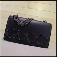 Wholesale pu leather purses - 2018 famous brand Designer fashion women luxury bags lady PU leather handbags brand bags purse shoulder tote Bag female