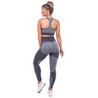 pantalones de sudor de yoga al por mayor-Leotardos de absorción rápida de secado rápido al aire libre Pantalones de yoga de las mujeres Medias de fitness de alta elasticidad Medias deportivas