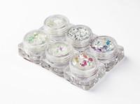 schneeweiße kunst großhandel-Rainbow Dazzling Glitter Mix,