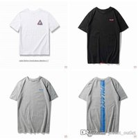 Wholesale cheap cotton tees - New 2018 Fashion Brand Summer T-shirt Men Palaces T Shirts Male P Short Sleeves Luxury Designer Top Tee Hommes Hip-hop Street Style cheap sa