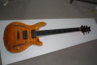 Wholesale Guitar Cherry Hollow - Wholesale - best CUSTOM 22 Hollow yellow P R S electric guitar China Guita2018r