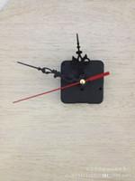 kits de mecanismos de relógio venda por atacado-Kit de Reparação de Movimento de Quartzo Relógio Mudo Relógios Pendurados Ferramenta Pequena Trabalho Mão Preta Mecanismo Do Eixo Set Carry Fácil 2 9gh cc