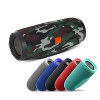 Wholesale powerbank fashion - 2018 Fashion charge Soundbar splashproof portable wireless bluetooth mini speaker built in mAh powerbank with logo and retail box