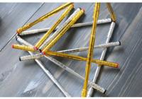 hombre escalando imanes al por mayor-La gloria del rey rey armas telescópica dorada palo aro combinación magnética pluma lápiz para descompresión