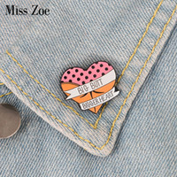 Wholesale china cap clothing resale online - Heart enamel pin Cartoon sexy butt brooch Button Badge Lapel pin buckle Clothes Jeans cap bag Funny jewelry Gift for friends