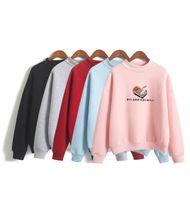 Wholesale harajuku cartoon hoodies women for sale - Group buy Women Hoodies Autumn Winter Sweatshirts Cartoon Kawaii Sushi Japanese Print Fleece Loose Moletom Feminino Harajuku Pullover