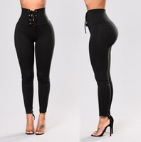 Wholesale gym workouts for women resale online - New Women High waist Bandage Sport Compression Leggings Elastic Patchwork Pants for Running Gym Fitness Dry Quick Workout Pant