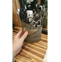 tesoura de cabeleireiro bolsa venda por atacado-Barbeiro de couro Saco de Tesoura de Salão de Cabeleireiro Holster Bolsa de Caso Profissional de Cabeleireiro Tesoura Caso Titular Saco Caso Cinto