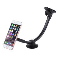 Wholesale Magnetic Arm - Universal Magnetic Car Phone Holder Long Arm Windshield Dashboard magnet Car holder Stand mount dock For iphone Mobile Phone