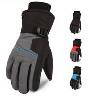 Wholesale waterproof gloves for motorcycle for sale - Group buy 2018 Winter Ski Gloves Waterproof Windproof Snowboard Shoveling Snow Warm Gloves Outdoor Motorcycle Gloves For Men Christmas Gift H914R